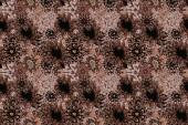Fotografie Bezproblémové ornament tisku. Indické hranice paisley patten. Lze použít pro pozdrav pozadí vizitky, obarvení kniha, pozadí, textilní. Rastrové Henna stylu. Etnické Mandala ručník