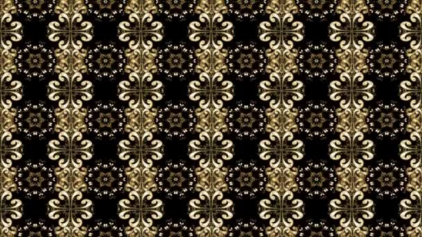 Motion oriental ornament in the style of baroque.