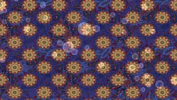 Loop motion záběry květin složení