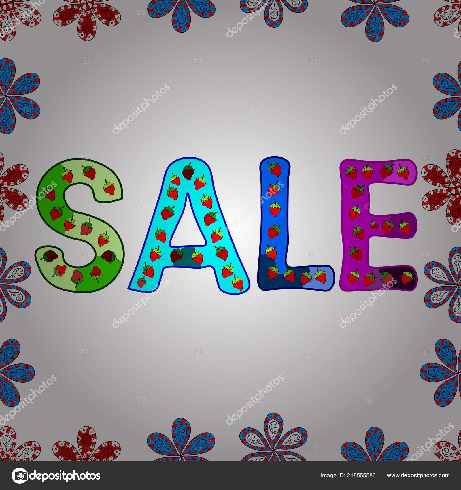 41ac229c9290 Umění Ilustrace Logotyp Pro Prodej Rozdávat Sleva Vyprodala Vůle Vektor — Stockový  vektor
