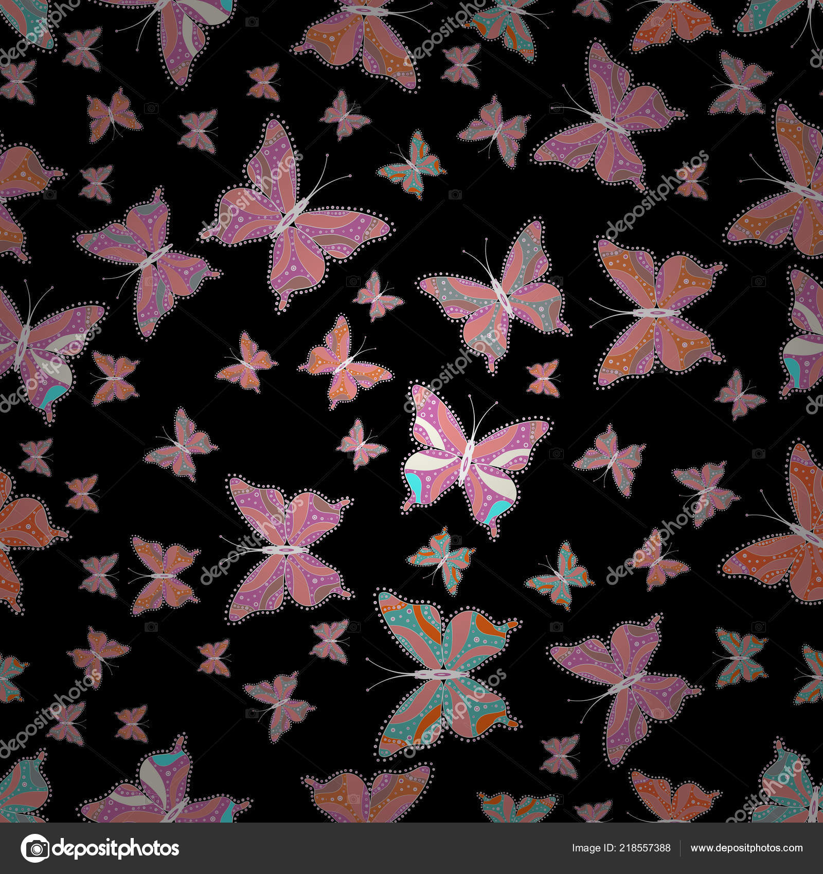 Pictures Black Pink Neutral Colors Abstract Pattern Boys Girls