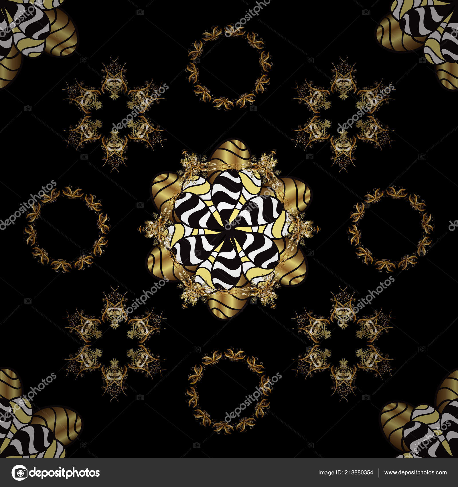 Elegant Vector Classic Pattern Seamless Abstract Background