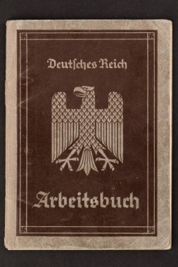 German Empire Worker's Employment Papers