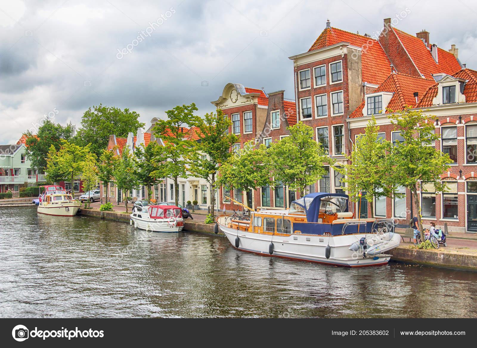 ハールレム オランダ 2018 運河...