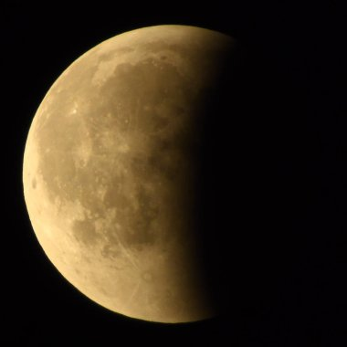 Moon after Longest Total Lunar Eclipse of Century Occurs 27 July 2018.