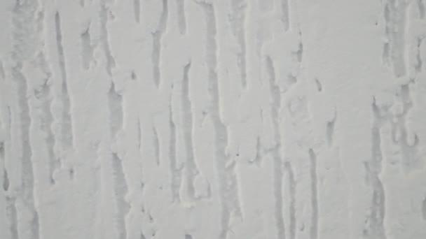 Bílé zdi textury s omítkou. 4k