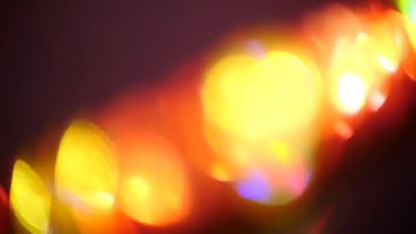 Defocused Abstract Background Vivid Colors Blur Color Glare