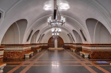 Frunzenskaya - Sokolnicheskaya line - Moscow, Russia