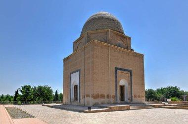 Samarkand Rukhobod Bricks Cupola Mausoleum