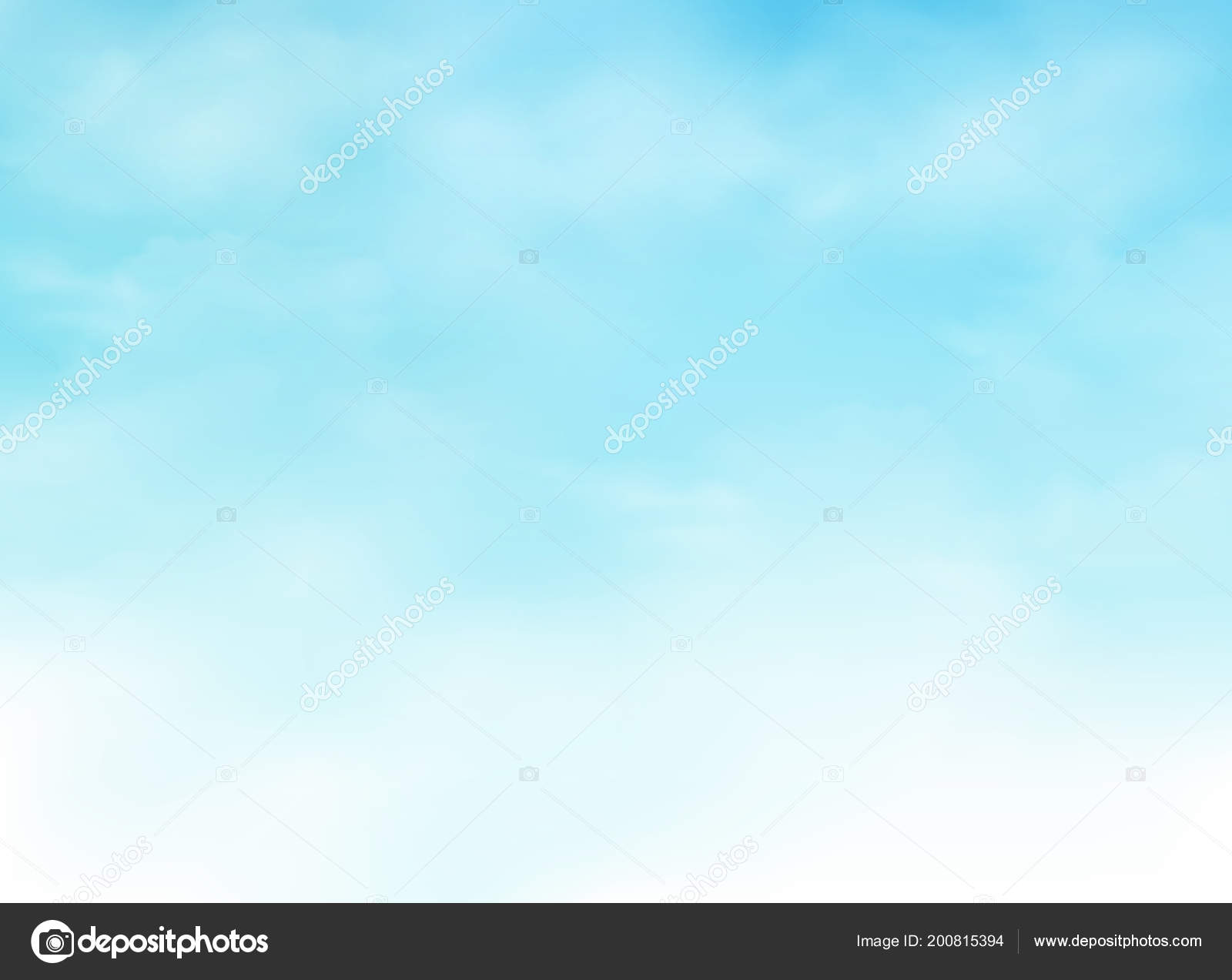 Abstraction Realistic Clouds Clear Blue Sky Background
