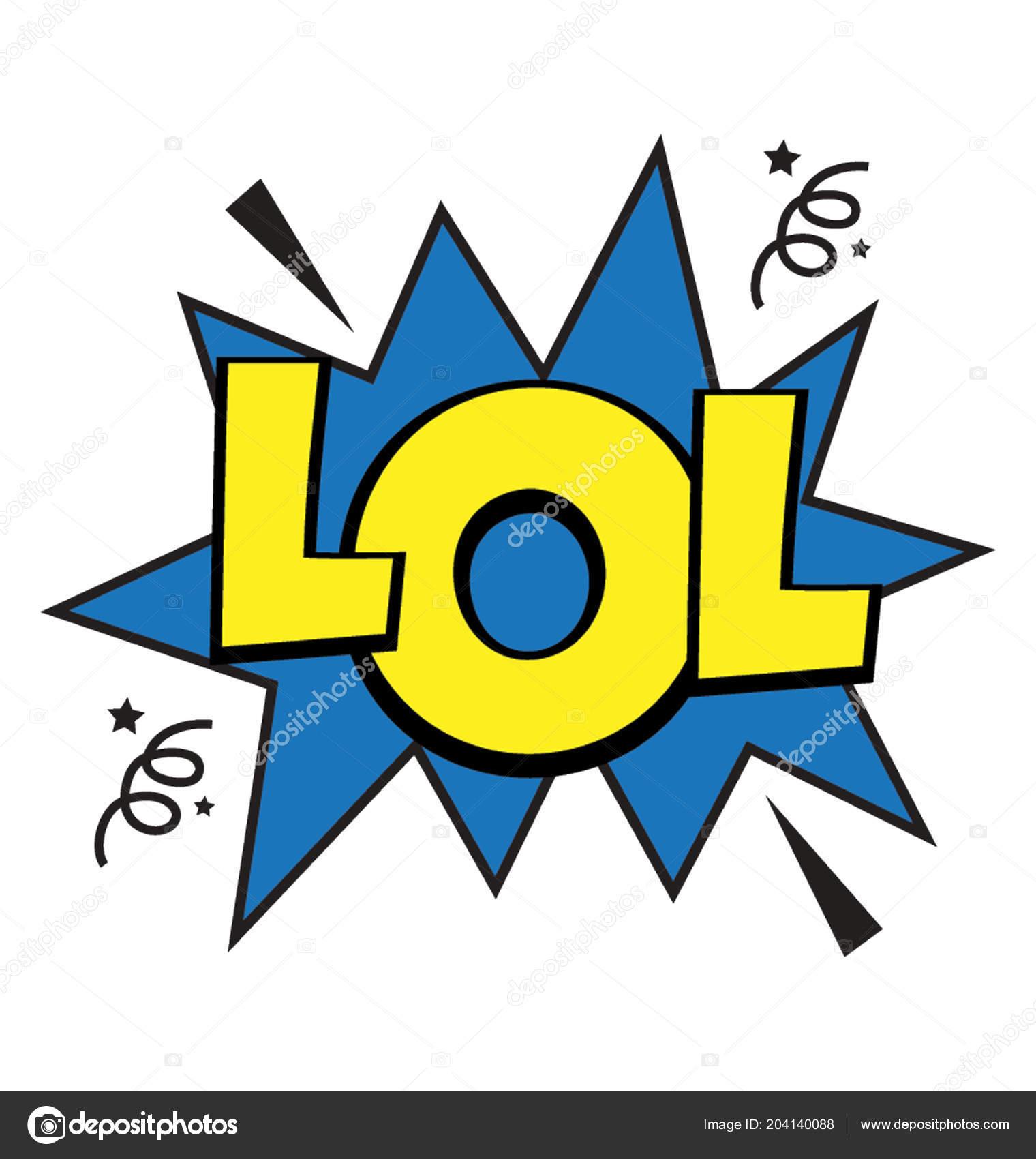 Laughing Out Loud Symbol Comic Way