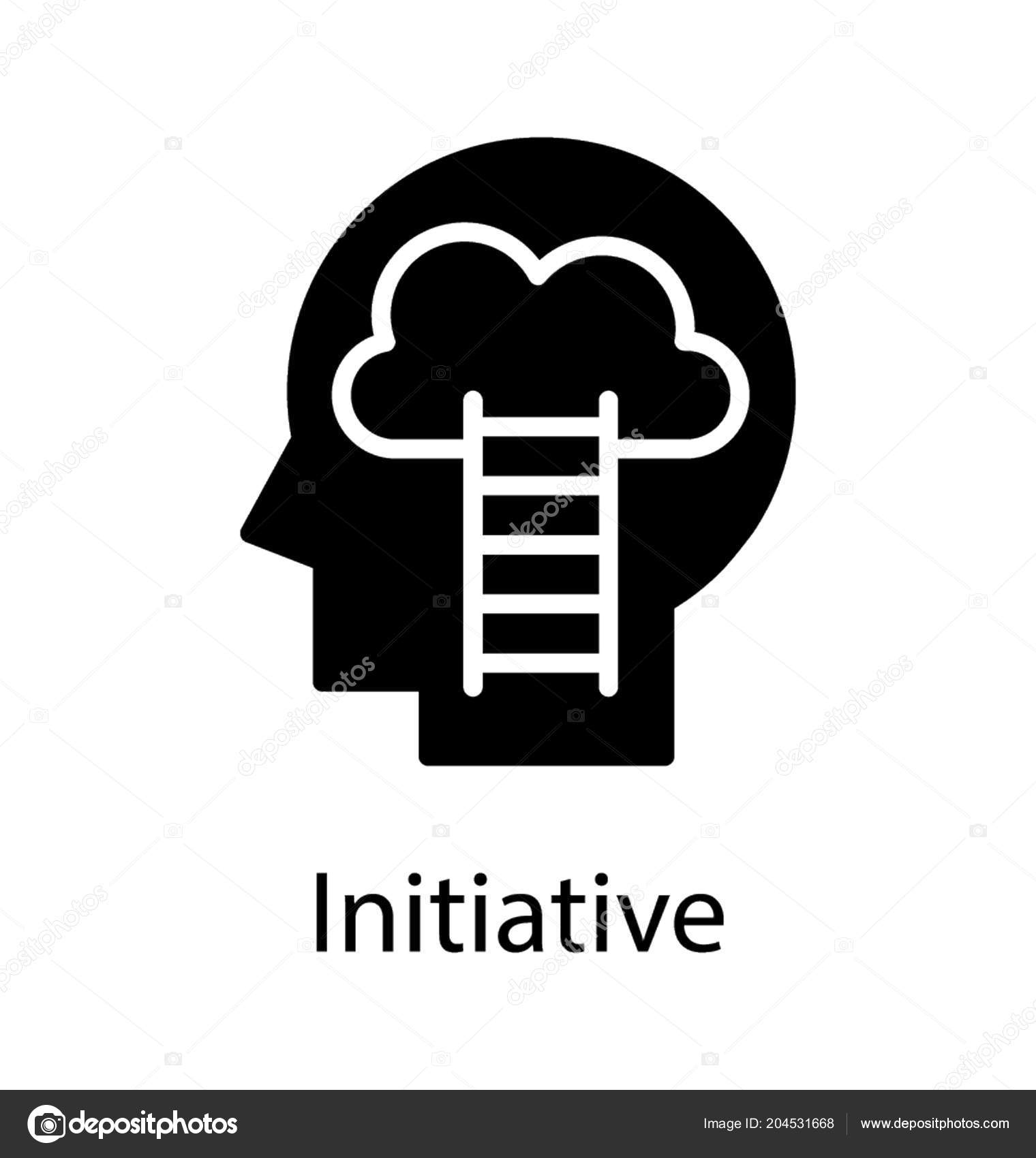 Ladder Human Skull Reaching Its Brain Depicting Idea ...