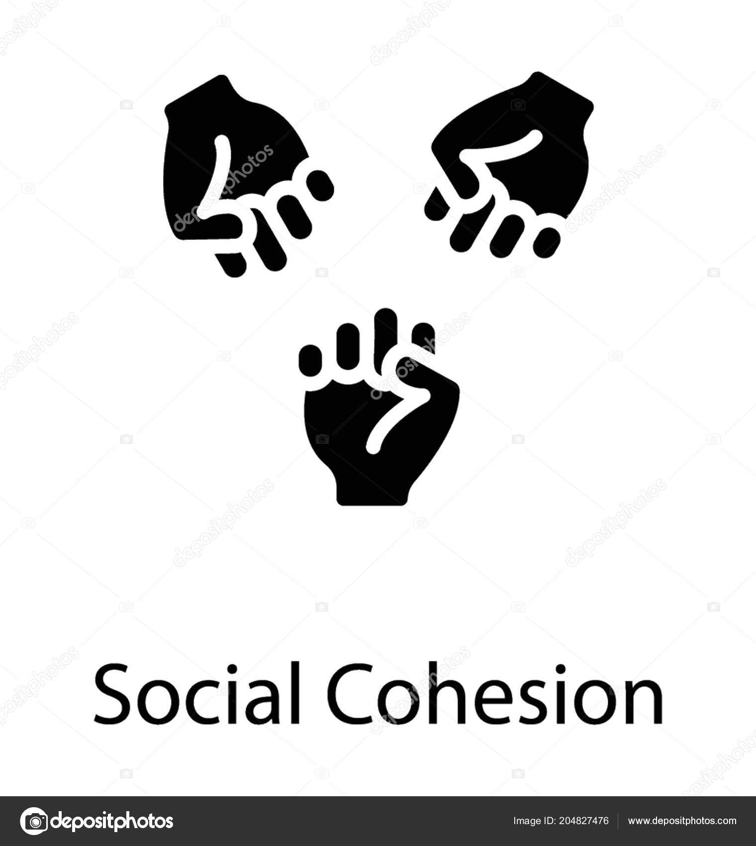 Hände Auf Händen Zeigt Konzeptionelle Symbol Von Zusammenhalt Und