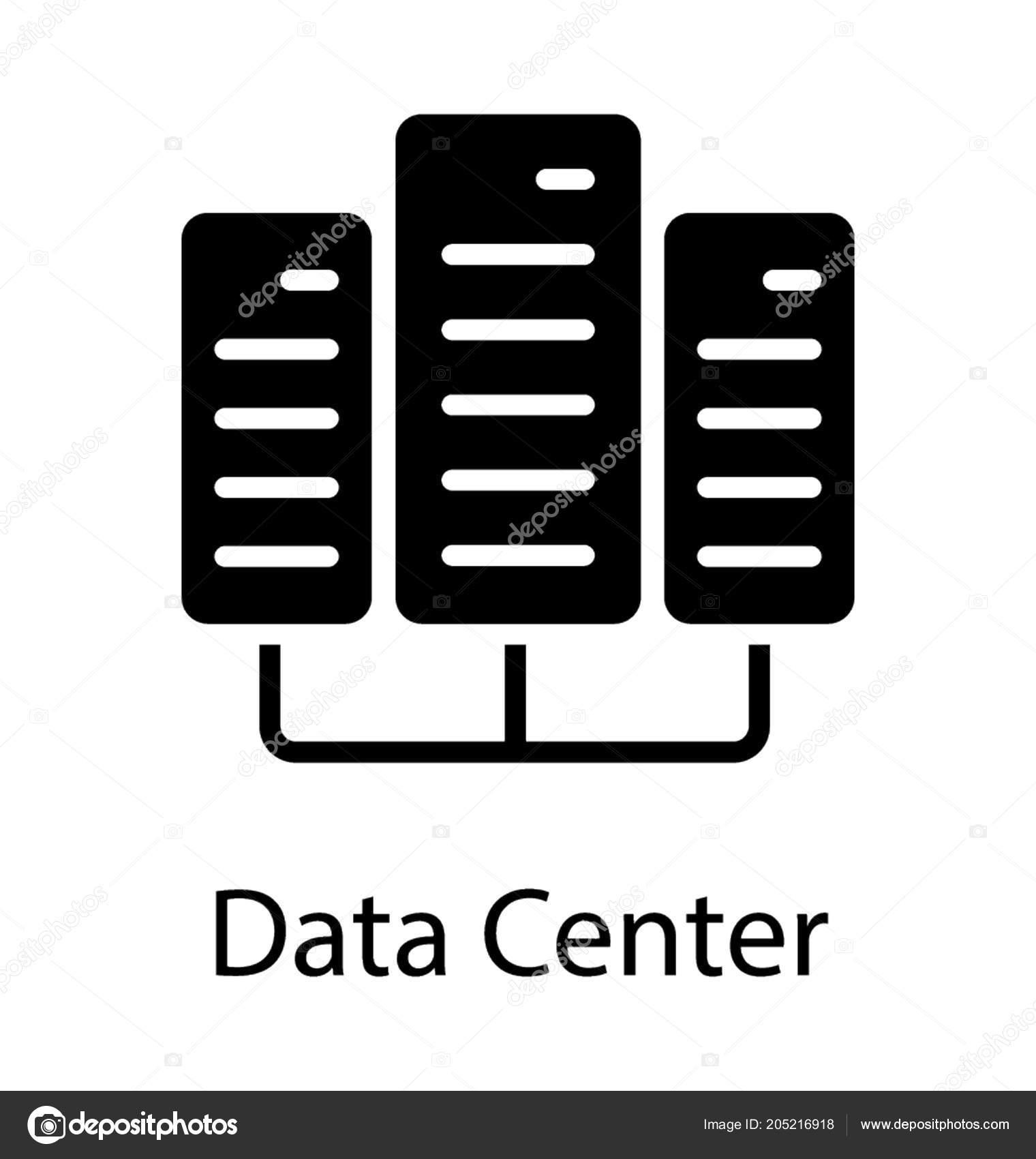 Database Management System Pictogram Denoting Icon Web