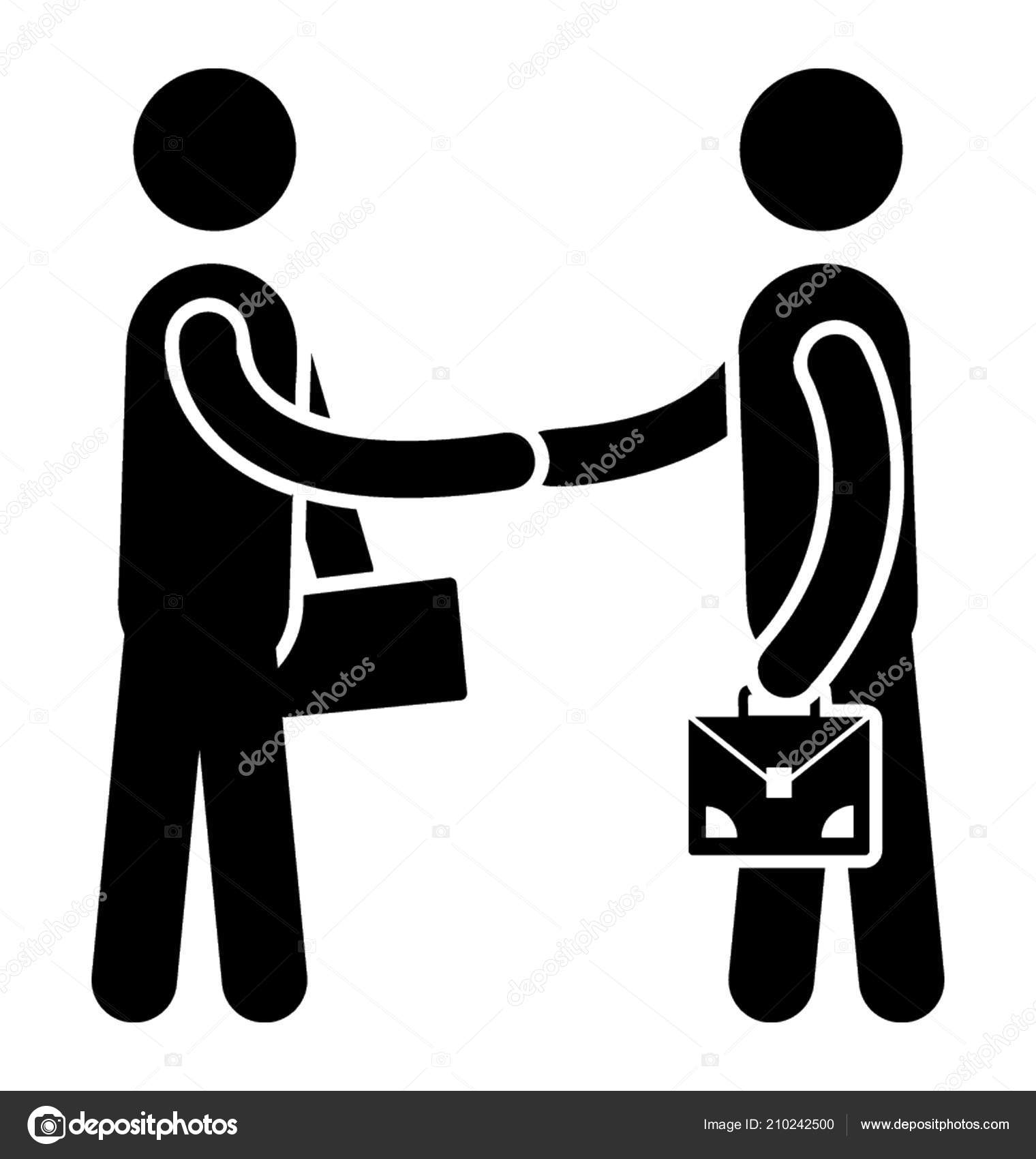 two persons professional get wearing tie holding stuff shaking hands