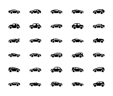 Automobile Vector Collection icons