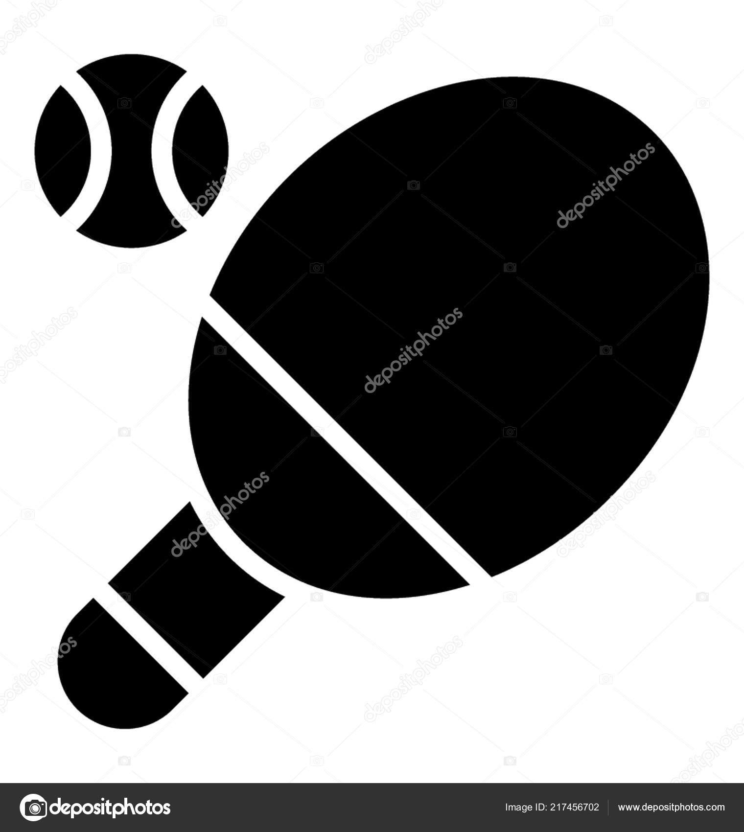 f1aa03f17 Bola Tênis Mesa Raquete Ping Pong — Vetores de Stock © prosymbols ...