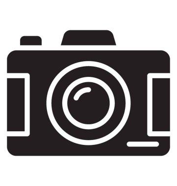 A digital camera representing photography