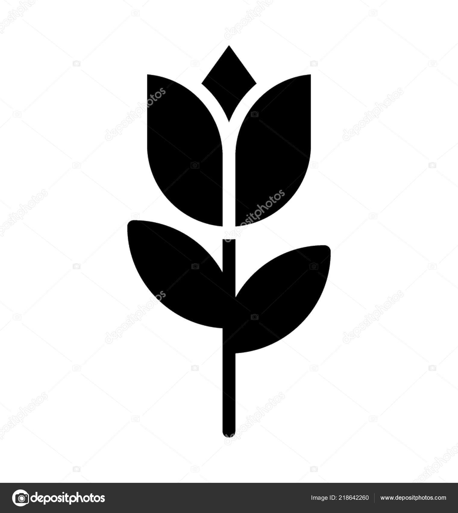 Lotus Flower Symbol Buddhism Thailand Stock Vector Prosymbols