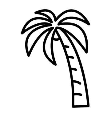 """Картина, постер, плакат, фотообои """"декоративная пляжная елка, икона пальмы постеры картины модульные фотографии графика"""", артикул 222913024"""