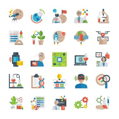 Science And Technology Icons Pack icon