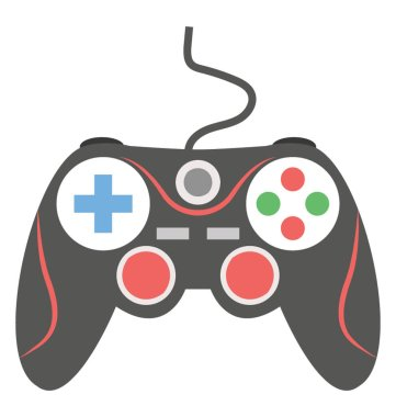 Joystick flat icon design