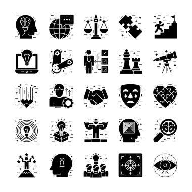 Life Skills Icons Collection