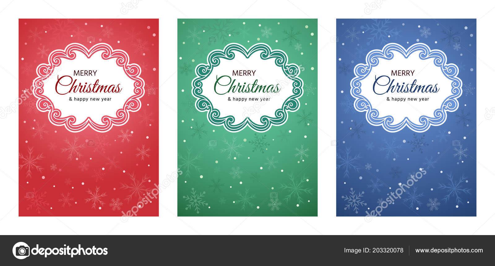 conjunto tarjetas invitaciones fiestas empaques para navidad año