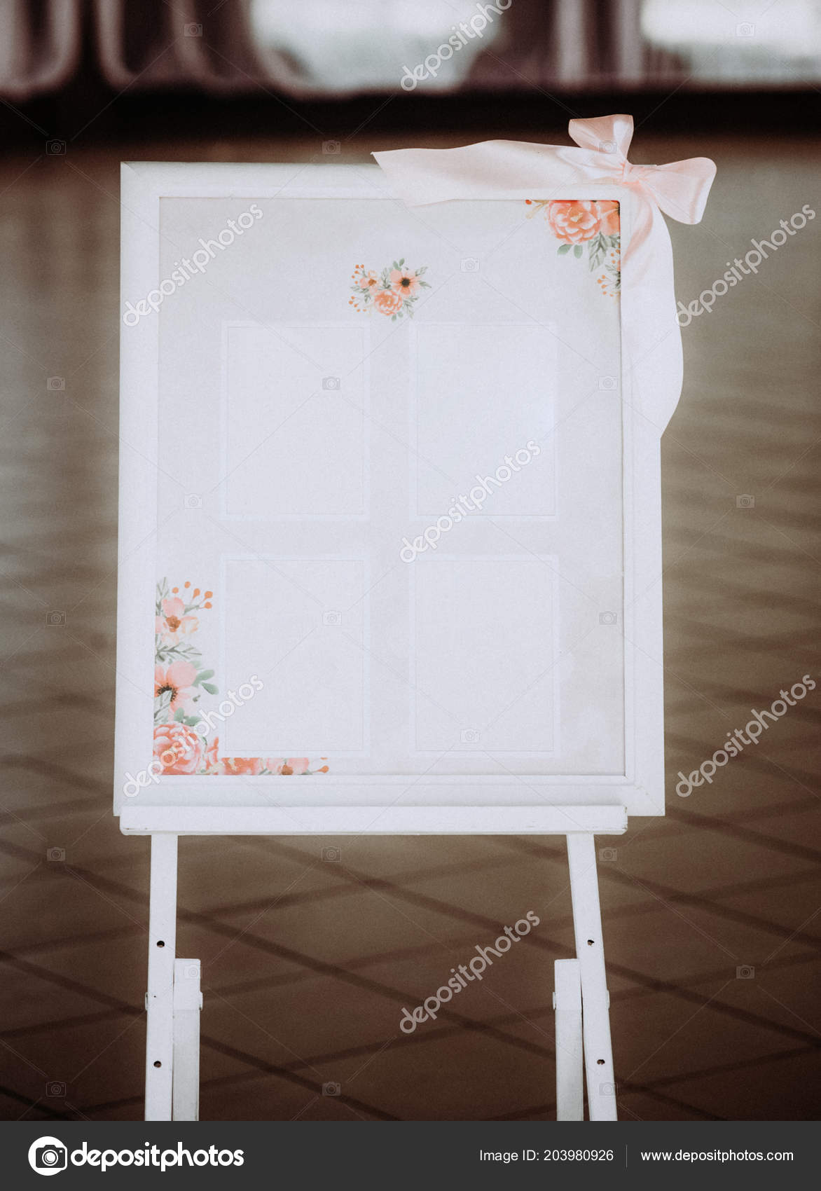 wedding guest list planner numer table wedding party stock photo