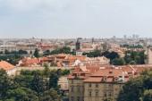 Fotografie Praha Staré město města se starobylou architekturou, Praha, Česká republika
