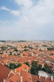 Letecký pohled na pražské Staré město města na den