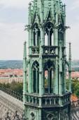 slavný Pražský hrad a krásné panorama v Praze, Česká republika