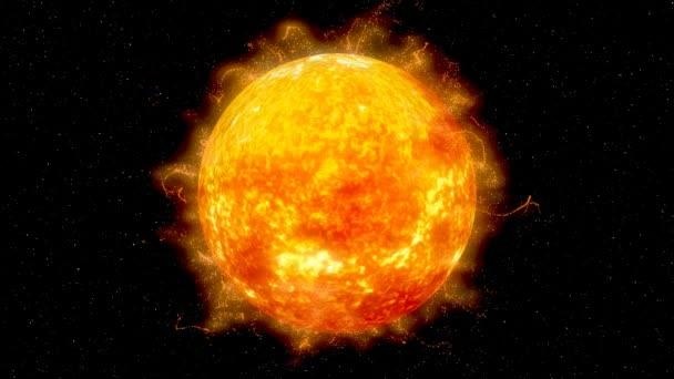 Digitální znázornění slunce