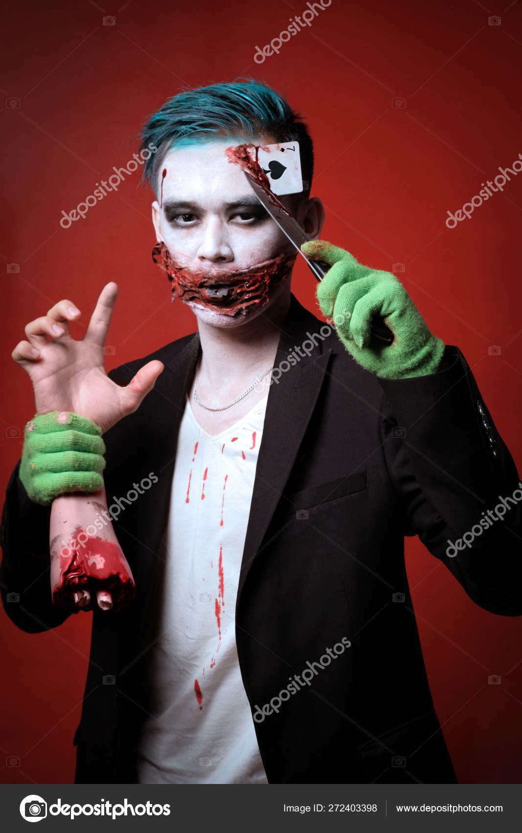 Halloween Makeup Looks For Guys.Scary Clown Makeup For Guys Halloween Makeup The Guy In The Suit