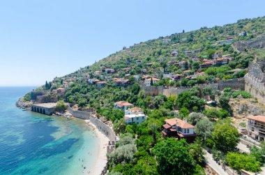 Ancient shipyard in Alanya peninsula,Antalya