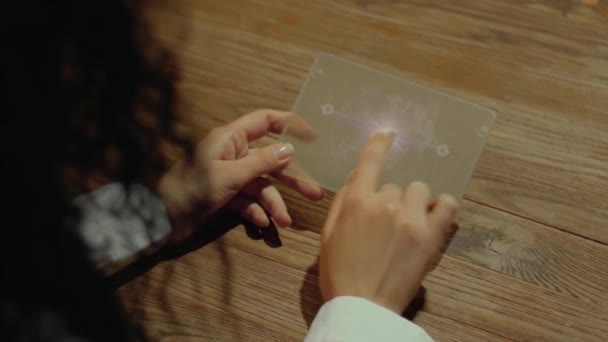 Hands hold tablet with text Scalability