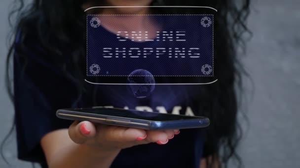 Nő bemutató Hud hologram Online vásárlás