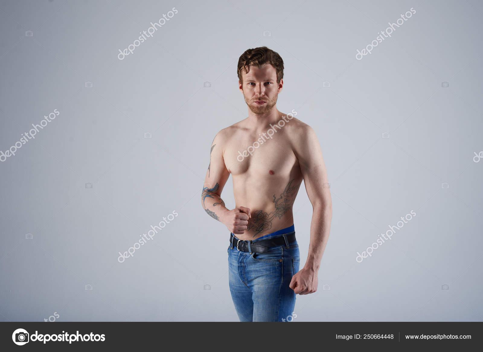 νέος γυμνό φωτογραφία