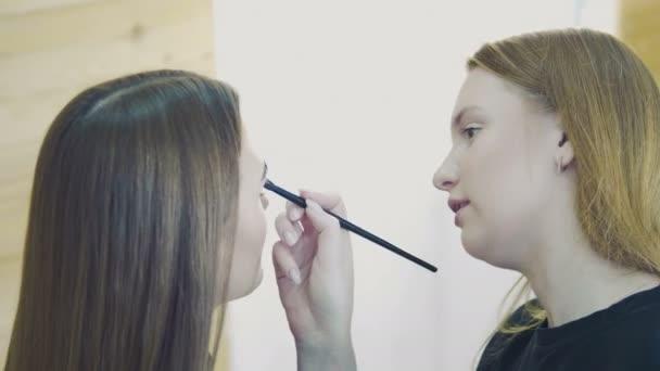 maskérka použití oční stíny