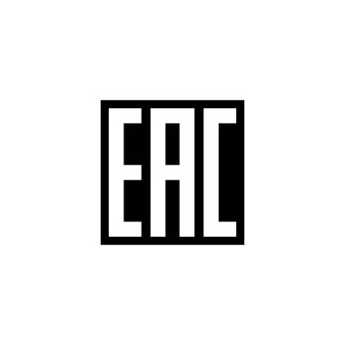 EAC is a certification mark to indicate that the products conform to all technical regulations of the Eurasian Customs Union. icon