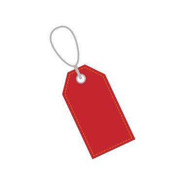 Vector illustration, flat design. Price Tag icon