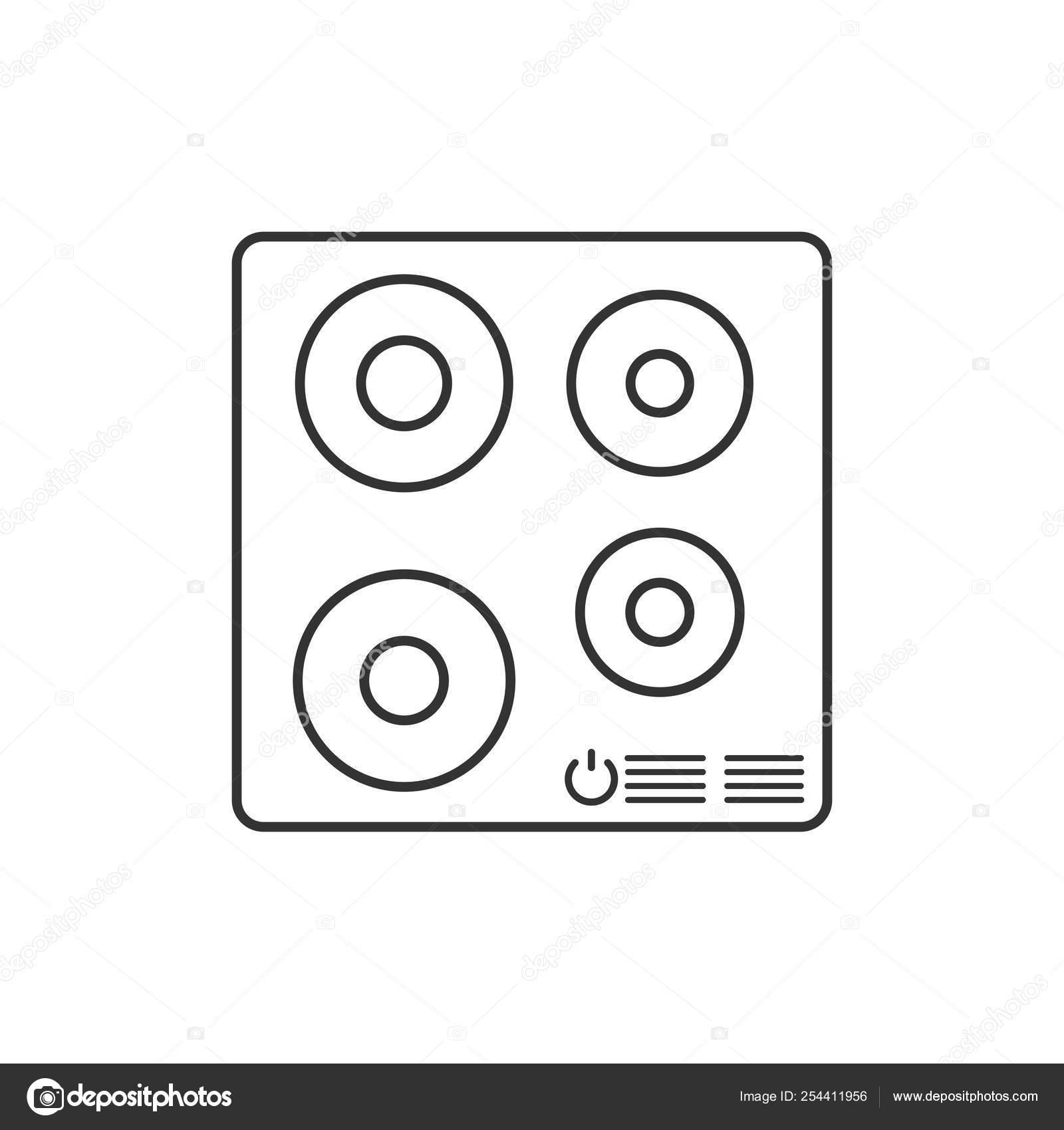 Indüksiyon ocak vektörler - Sayfa 2   Indüksiyon ocak vektör çizimler,  vektörel grafik