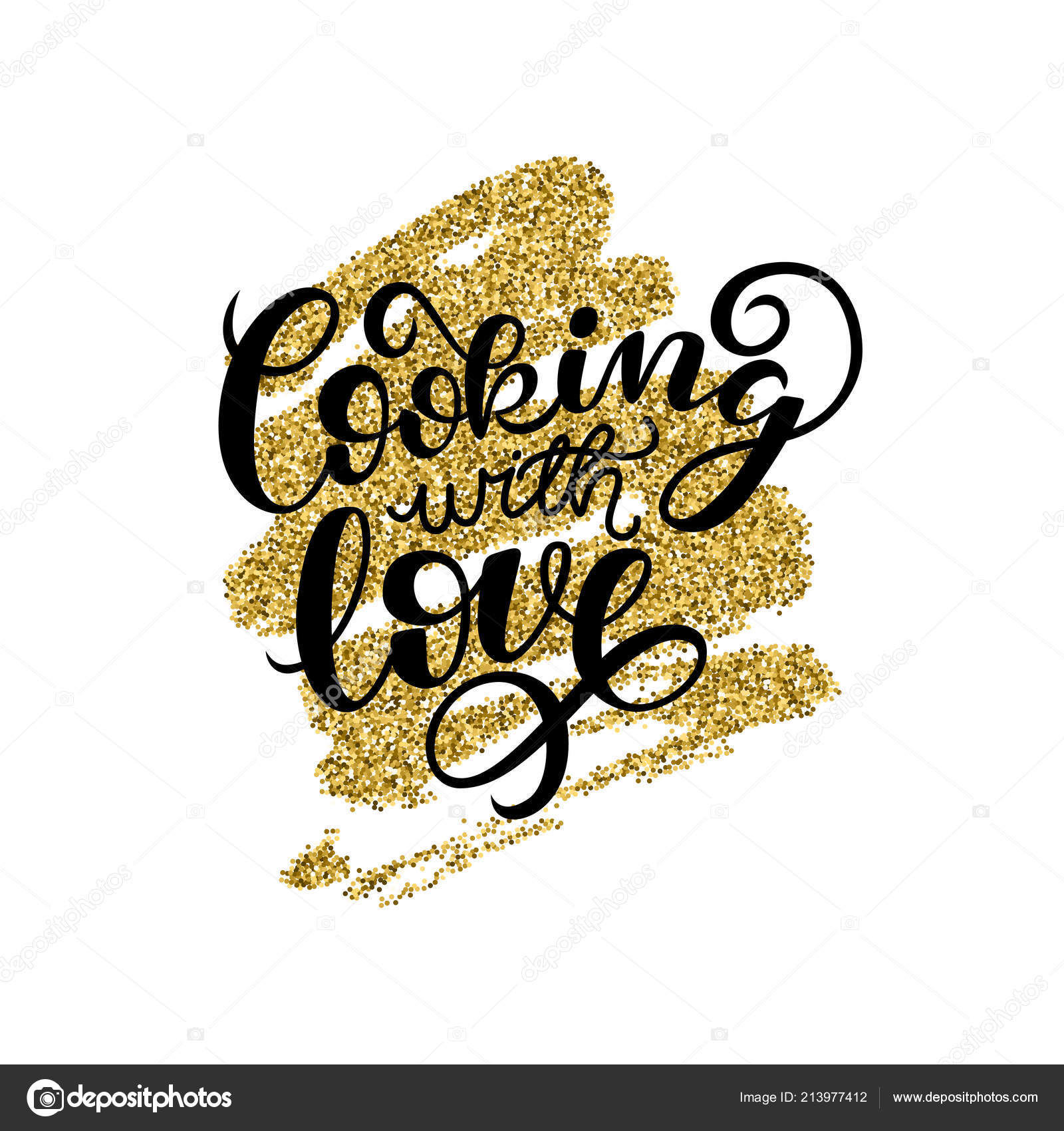 cooking love handwritten card printable quote template calligraphy