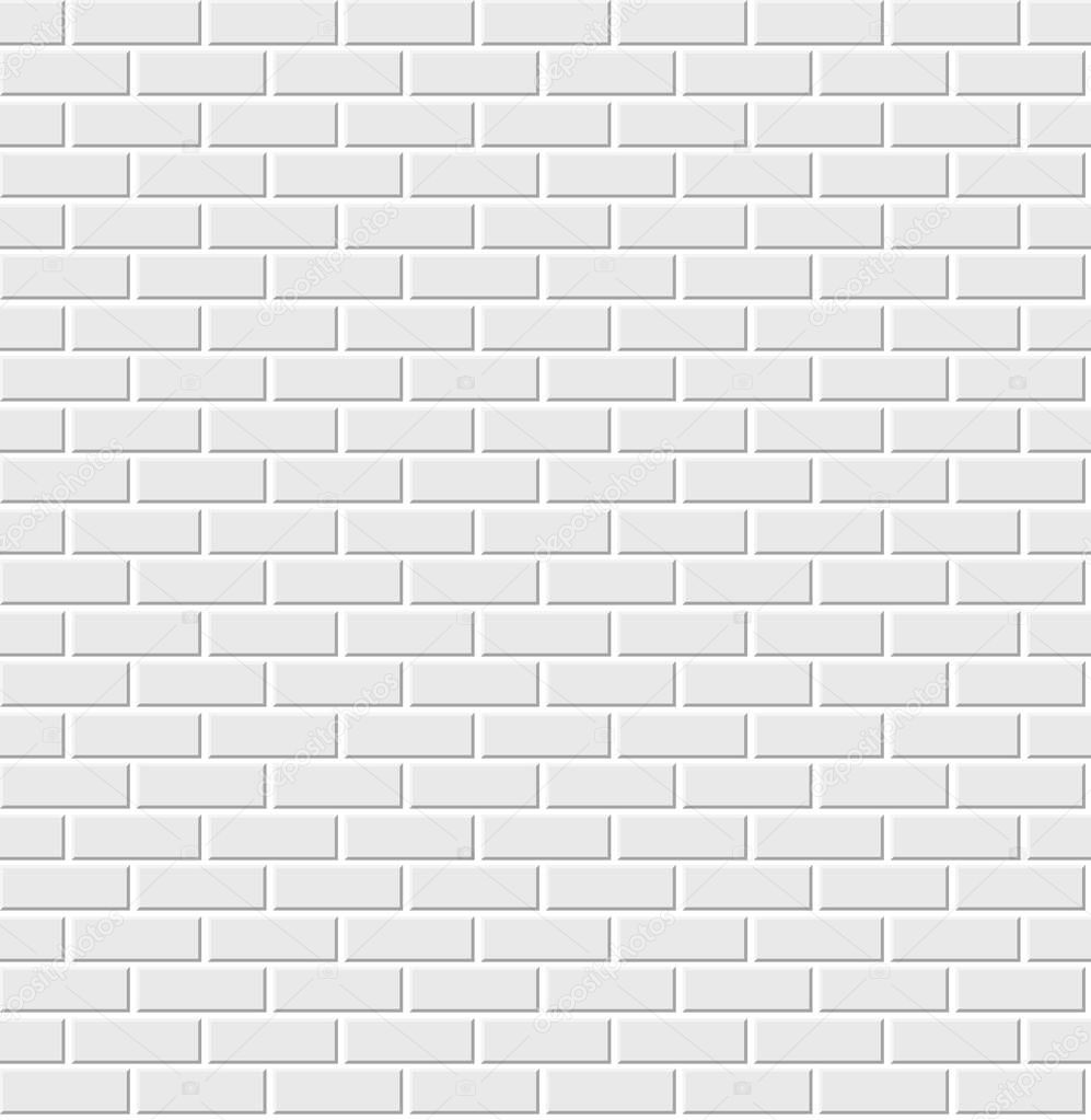 Vector White Brick Wall Texture Seamless Pattern With 3d Effect Premium Vector In Adobe Illustrator Ai Ai Format Encapsulated Postscript Eps Eps Format