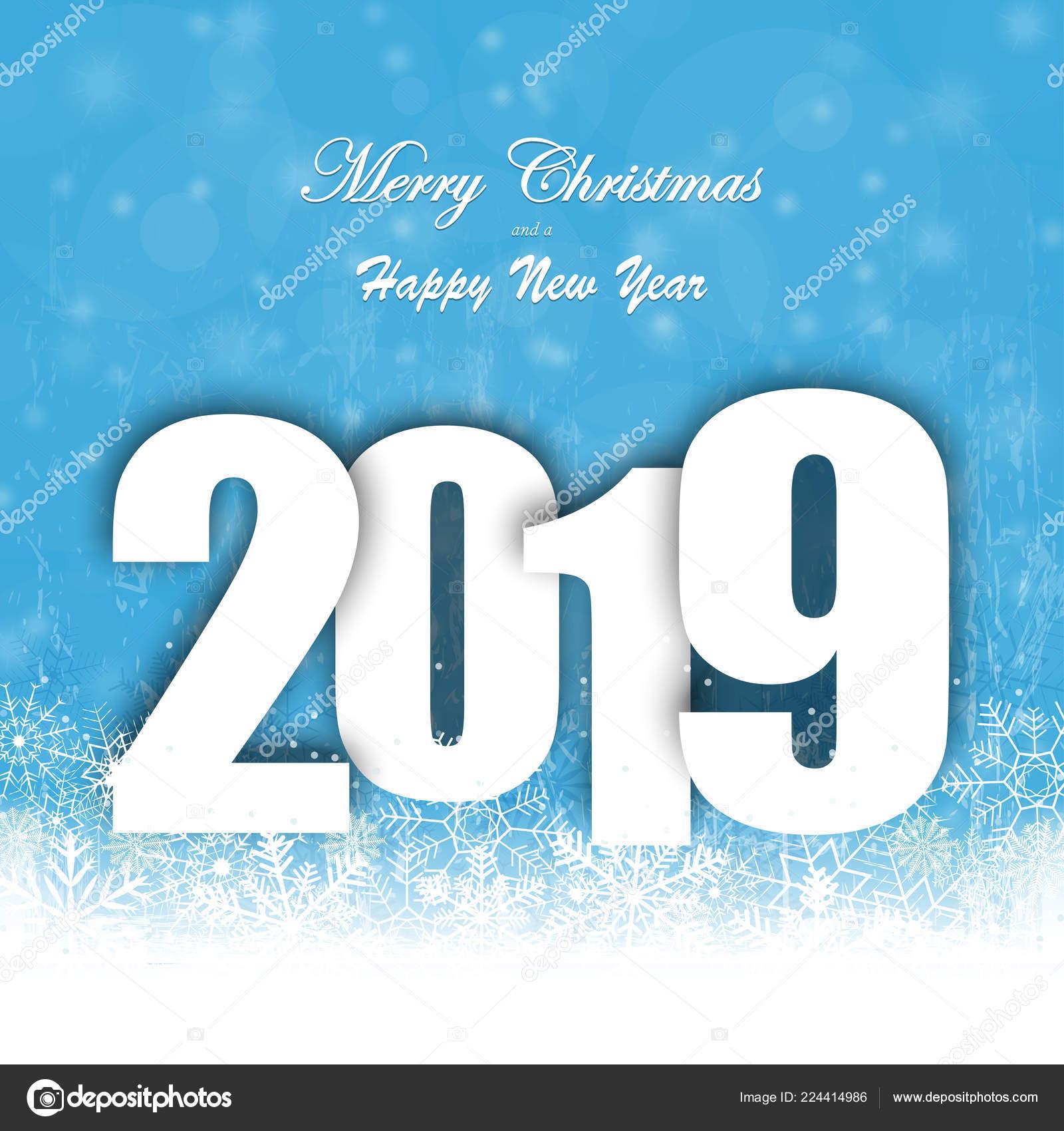Felicitaciones Para Navidad 2019.Fondo Con Caida Nieve Saludos Para Navidad Ano Nuevo 2019