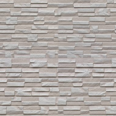 Seamless pattern with grey stone wall panels of the original squared form
