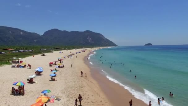 a2c541213b Praia Paraíso Praia Linda Maravilhosa Praias Redor Mundo Praia Grumari —  Vídeo ...
