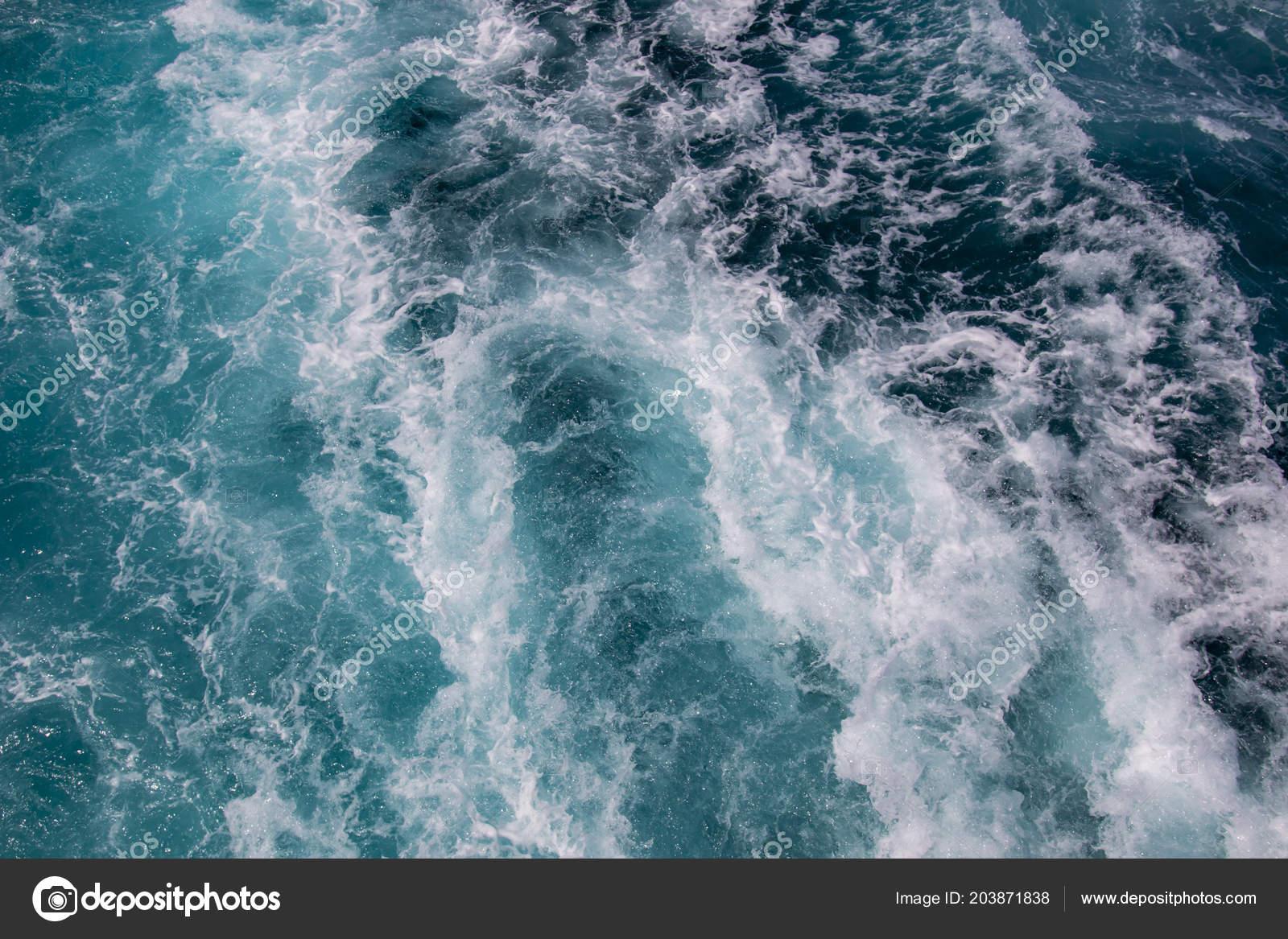 Ocean Surface Sea Foam Blue Ocean Background More Options Portfolio Stock Photo Image By C Ranimiro 203871838