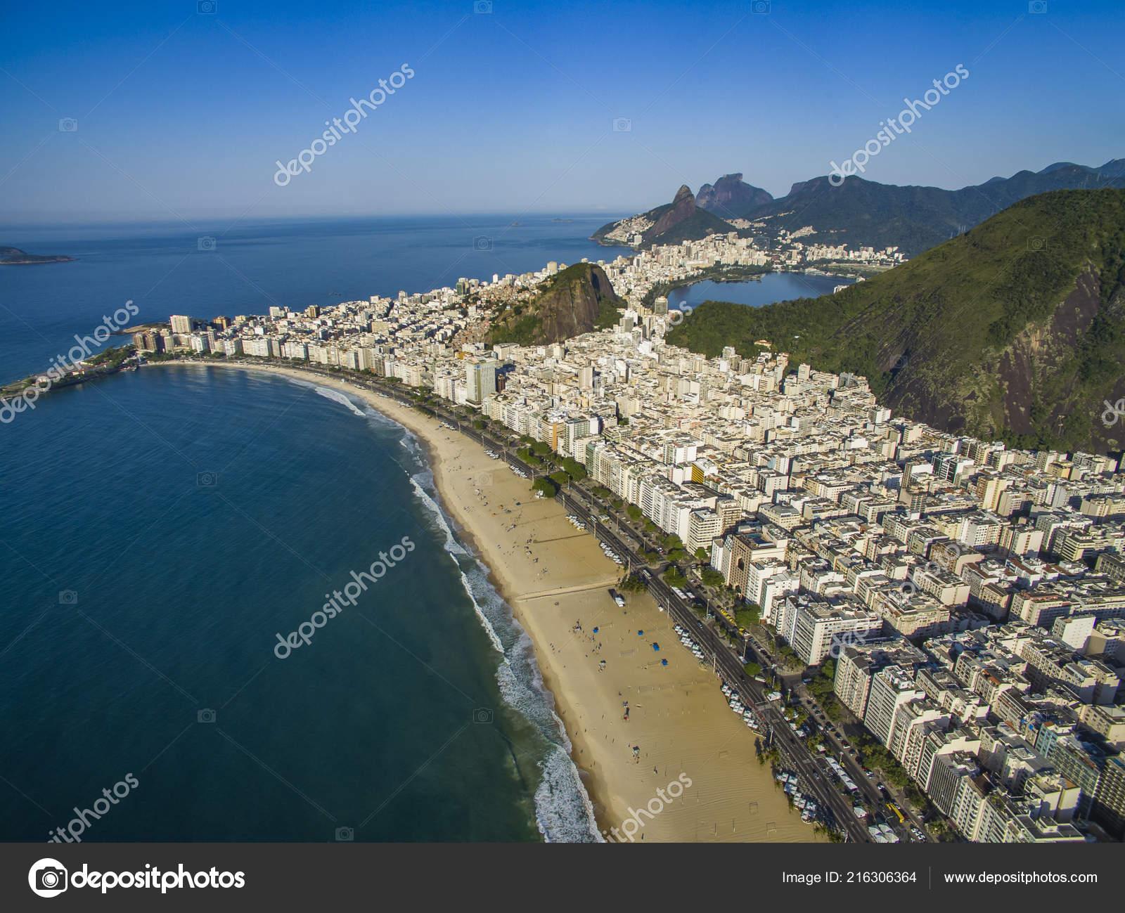 Copacabana Strand Stadtteil Copacabana Rio Janeiro Brasilien Süd