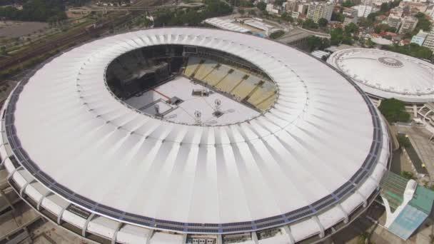 Maracana stadionban. Brazil foci. Musical a Maracana stadionban. City of Rio de Janeiro, Brazília Dél-Amerikában. 05/04/2019